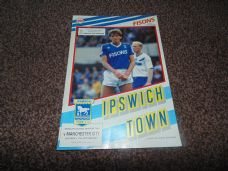 Ipswich Town v Manchester City, 1987/88